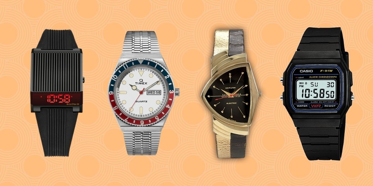 12 Best Retro Watches for the Vintage Lover