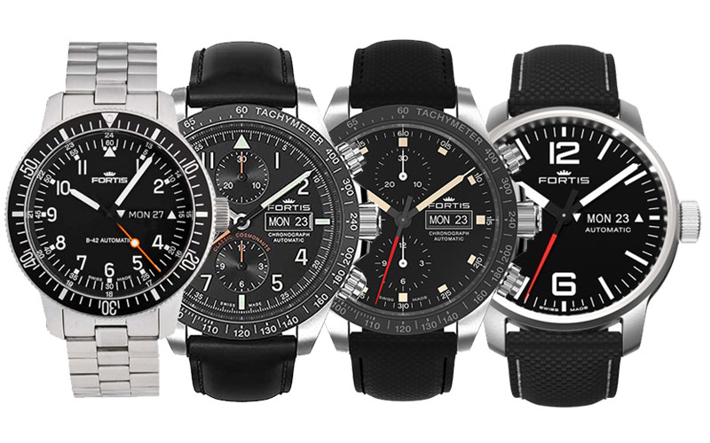 Fortis Watches Space Collection