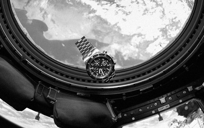 Fortis Watches in Space